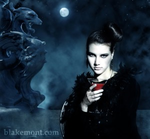 Picture of a female vampire