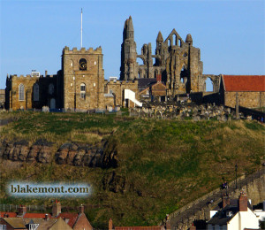 Whitby, UK: Church of Saint Mary and Whitby Abbey