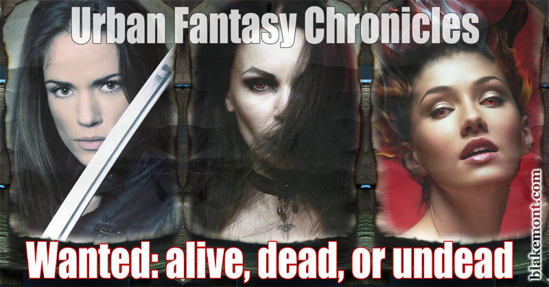Urban fantasy chronicles by A. J. Blakemont